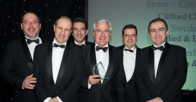 "ABG IP named ""Spanish Prosecution Firm of the Year 2012"