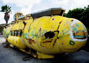 Patente Submarino Sumergible Abandonado
