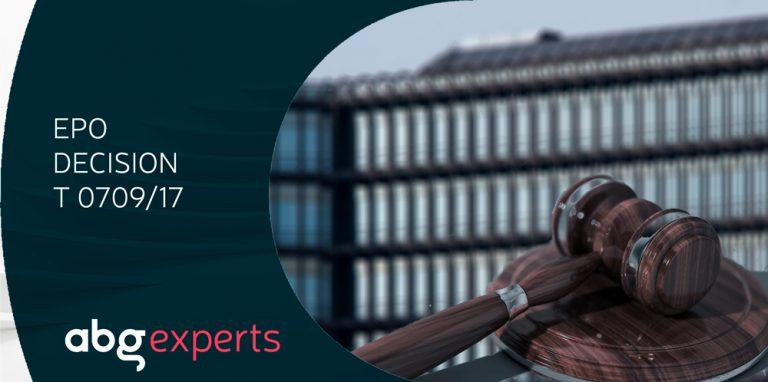 ABG Intellectual Property involucrada en un cas en què una Cambra de Recursos de l'EPO proporciona orientació sobre la selecció de punts de partida adequats dins del document de l'estat de la tècnica més proper