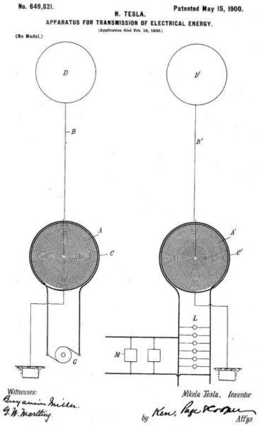 patente tesla 649621