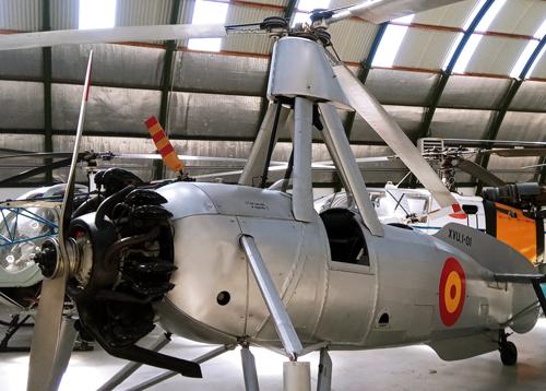 Patente Autogiro Cierva Modelo C30