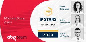 Managing IP distingue al equipo de ABG IP e incluye a 3 Rising Stars en sus rankings