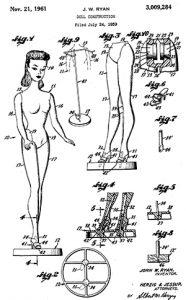 Patente Juguetes Juegos Navidad Barbie