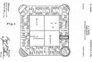 Patente Juguetes Juegos Navidad Landlord Game