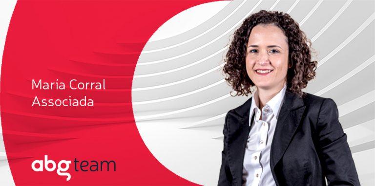 María Corral, nova associada en ABG