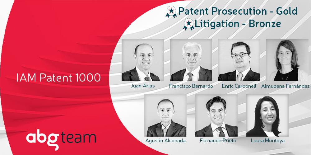 ABG IP goes Gold for the ninth year in a row in the IAM Patent 1000 ranking