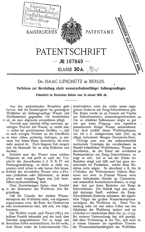 Proteccion solar Patente Beiersdorf