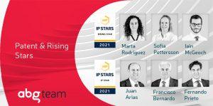 Seis agentes de ABG IP distinguidos por Managing IP